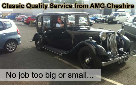 AMG Cheshire Ltd - Classic Car Servicing