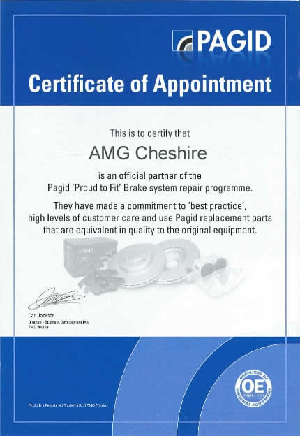 pagid proud to fit certificate